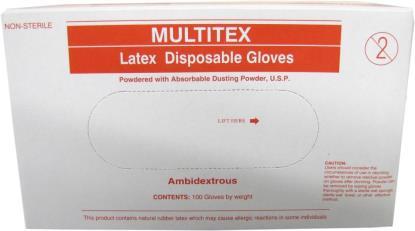 Picture of Latex Gloves Medium (Per 100)