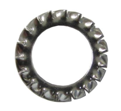 Picture of Washers Crinkle Locking Stainless 8mm ID x 15mm OD (Per 20)