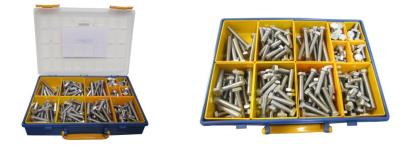 Picture of Bolts Hexagon Kit 10mm x 12mm to 85mm Stainless (Kit)