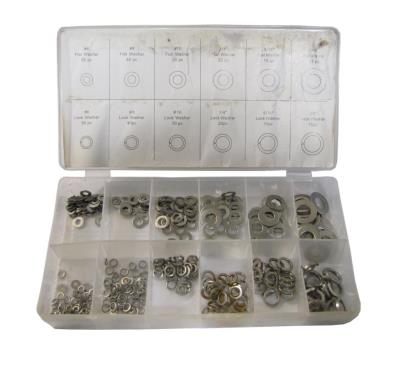 Picture of Washers Flat & Locking 350pc Assortment (Kit)