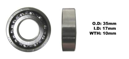 Picture of Bearing 6003(I.D 17mm x O.D 35mm x W 10mm)