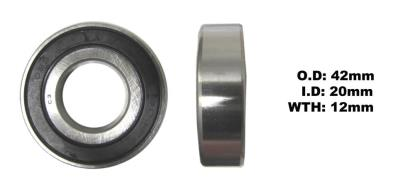 Picture of Bearing SNR 6004EEU(I.D 20mm x O.D 42mm x W 12mm)