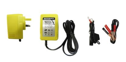 Picture of Motobatt MBCLB Battery ChargerLittle Boy 12v Automatic 750ma