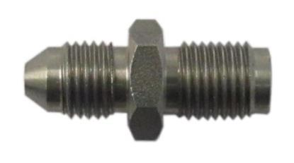 """Picture of Adaptor 10mm x 1.00mm Concave Stainless fits to 3/8"""" Hose End (Per 5)"""