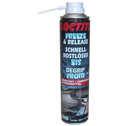 Picture of Loctite Freeze & Release Spray for all rusty nuts & bolts