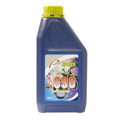 Picture of Hi-Rev 890 2T 100% synthetic low smoke two stroke oil