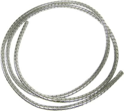 Picture of Cable Cover Chrome 5mm x 7mm 1.5 Metres Silver Cover