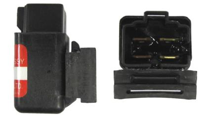 Picture of Starter Relay 12v 30 Amp 4 Pin With Male Connector