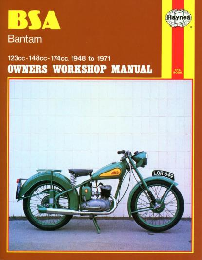 Picture of Haynes Manual 117 BSA BANTAM 48-71-S/Order