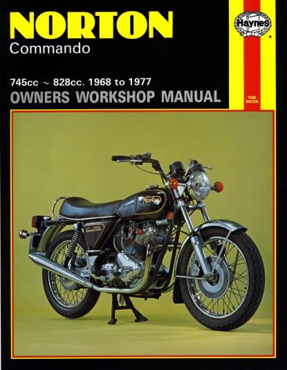 Picture of Haynes Manual 125 Norton COMMANDO 68-77