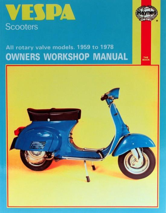 Picture of Haynes Manual 126 VESPA Scooters