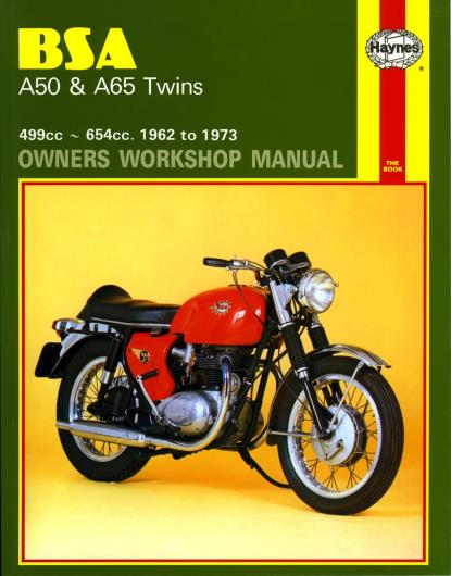 Picture of Haynes Manual 155 BSA A50 & A65 TWINS