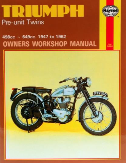 Picture of Haynes Manual 251 Triumph PRE-UNIT TWINS