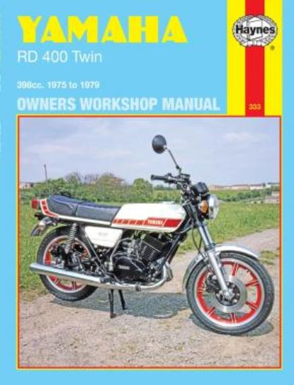 Picture of Workshop Manual Yamaha RD400 Twin 1975-1979
