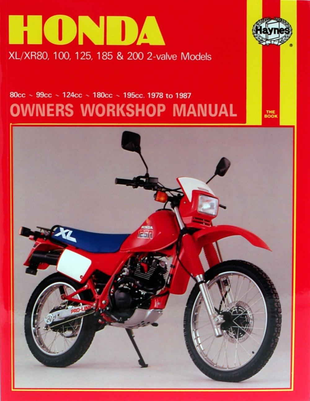 Motorradteile Honda XL 250 S 1978-1979 Haynes Service Repair ...