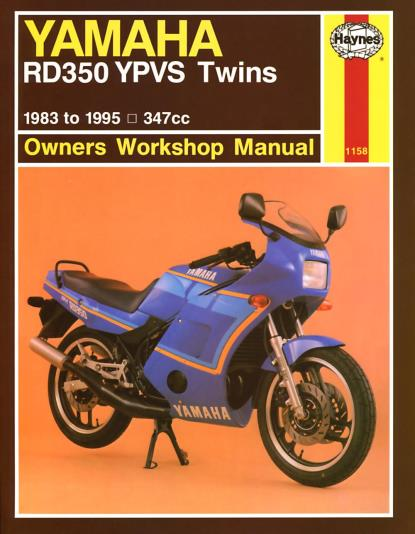 Picture of Haynes Manual 1158 YAM RD350LC YPVS