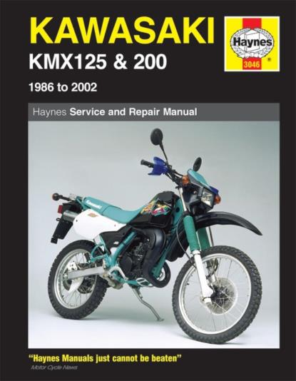 Picture of Haynes Manual 3046 KAW KMX125 & 200-SPECIAL