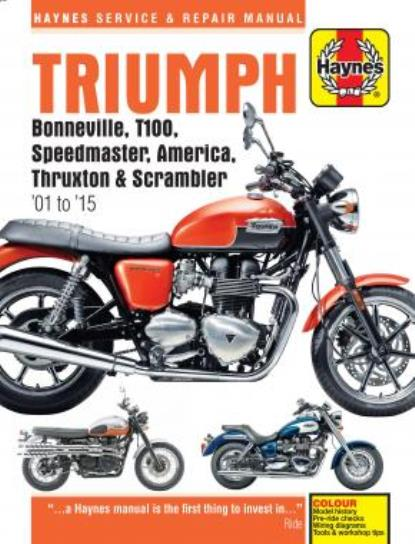 Picture of Haynes Manual  4364 Triumph Bonnie,T100,Speed,Thrux 01-12