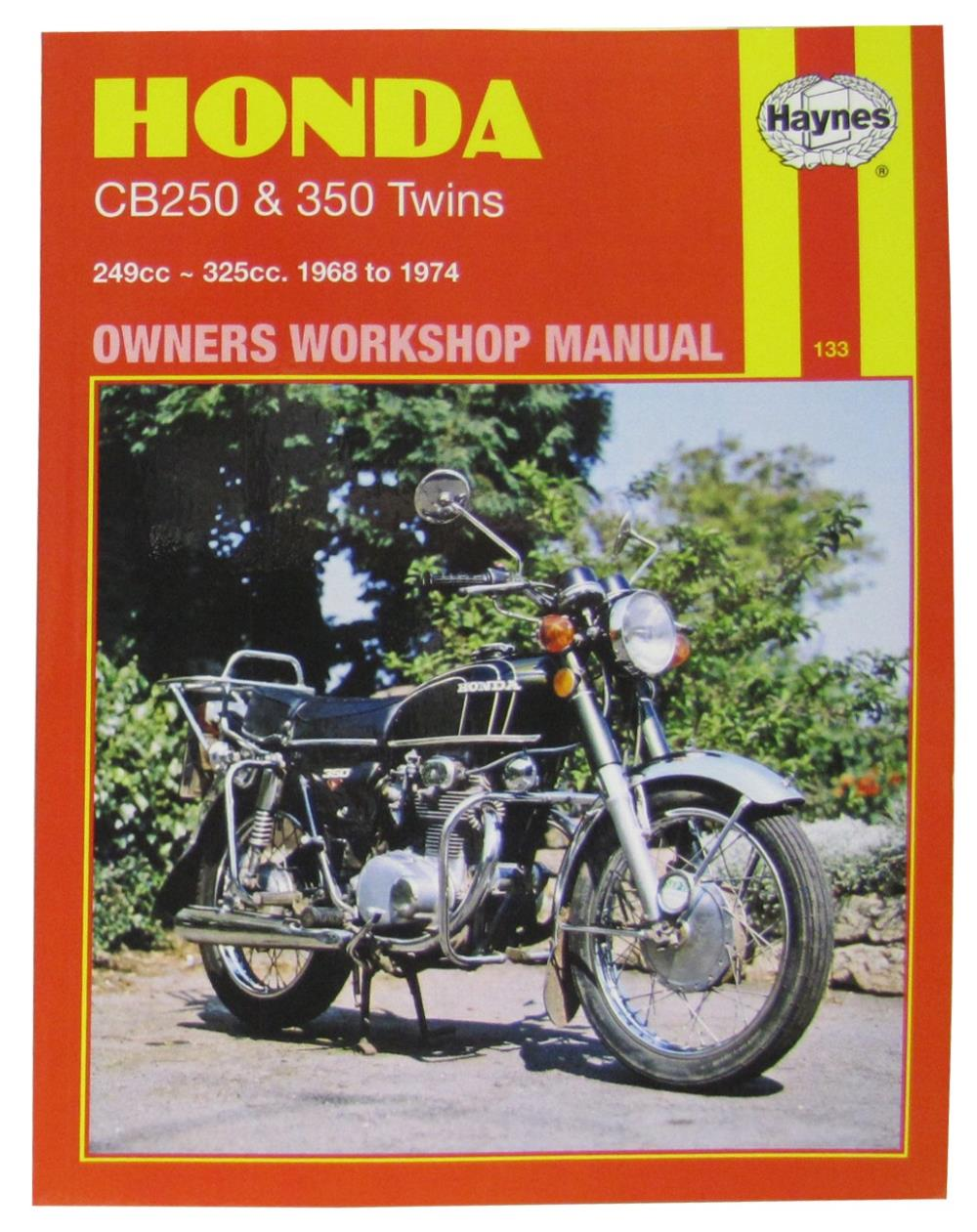 Manual    Haynes    for 1974    Honda       CB    250 K4   eBay