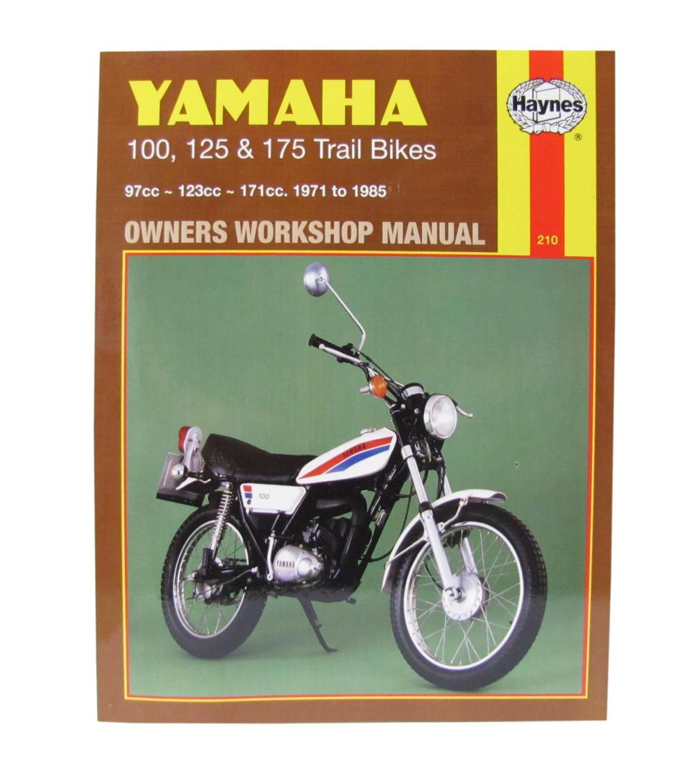 Workshop Manual Yamaha Dt100 76