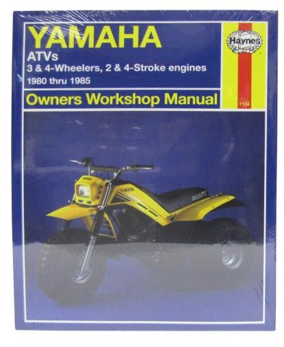 Picture of Workshop Manual Yamaha YFM200, YT60, 125, 175, YTM200, 225, YTZ250 80-85