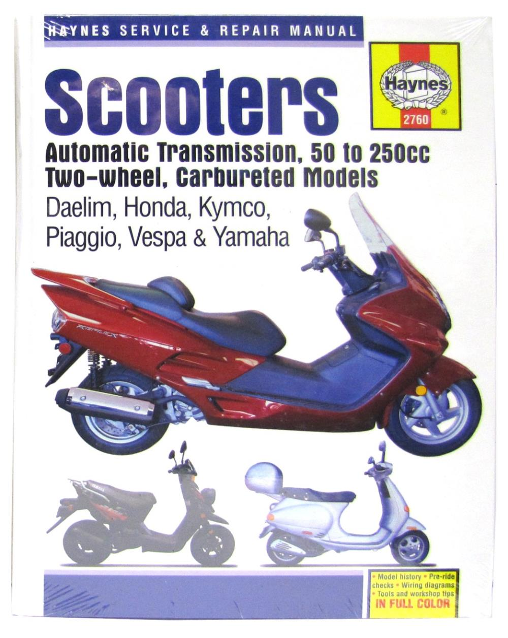 Workshop Manual Scooters Daelim Honda Kymco Piaggio Vespa Engine Diagram Description
