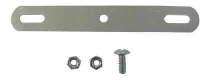Picture of Mudflap fittings, plate, nuts, bolts & washers (Set)