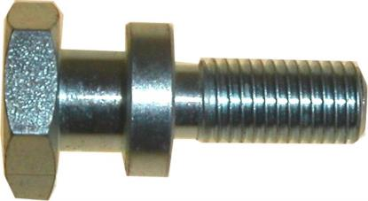 Picture of Paddock Stand Bobbins Stepped 10mm x 1.25mm, overall 39mm (Pair)