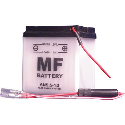 Picture of Battery (Conventional) for 1948 BSA Bantam D1 (123cc)
