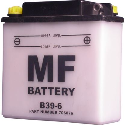 Picture of Battery (Conventional) for 1949 BSA Golden Flash (646cc)