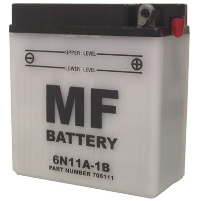 Picture of Battery (Conventional) for 1947 Triumph Tiger 100 (498cc)