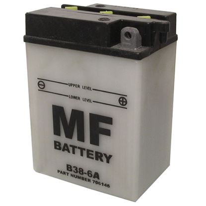 Picture of Battery (Conventional) for 1947 Triumph 5T Speed Twin (498cc)