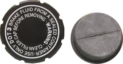 Picture of Master Cylinder Cap Kawasaki 43026-004 (I.D 49mm) (Set)