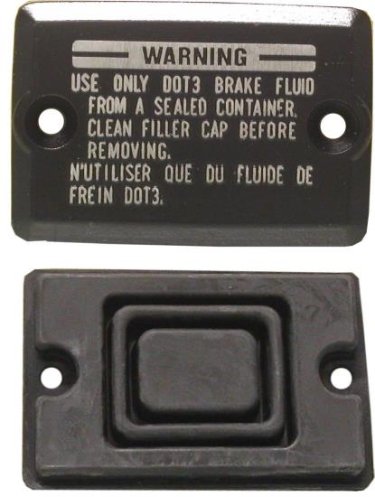 Picture of Master Cylinder Cap Kawasaki 43026-1055 (70mm x 48mm) (54mm) (Set)