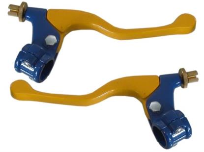Picture of Lever Assembly Yellow No Mirror Boss (Pair)