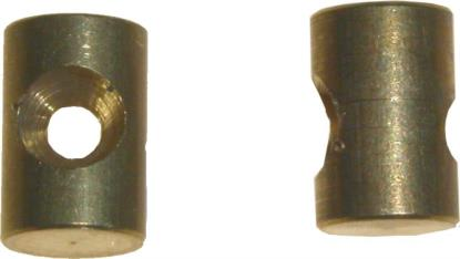 Picture of Nipple Barrel 5.00mm x 7.60mm (Per 50)
