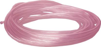 Picture of Overflow Pipe Clear with tint of pink 3mm x 6mm (5 Metres)