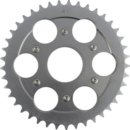 Picture of 020-41 Rear Sprocket Aprilia 125 Red