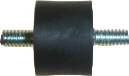 "Picture of Oil Tank Rubber Mount 1/4""Thread, 25mm Dia, 20mm Depth (Per 5)"
