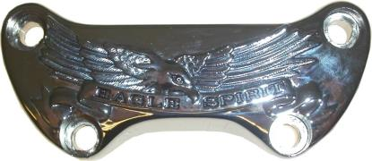 Picture of Handlebar Clamp Harley with Eagle Spirit Banner