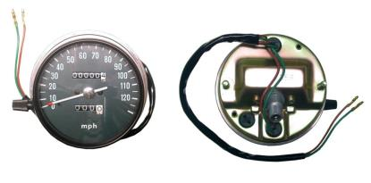 Picture of Clock Speedo Honda CB750K4-6 MPH up to 140 MPH