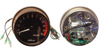 Picture of Clock Tacho Kawasaki Z's electronic with stop lamp 12000rpm (Set)