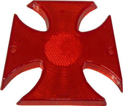 Picture of Taillight Lens Maltese Cross