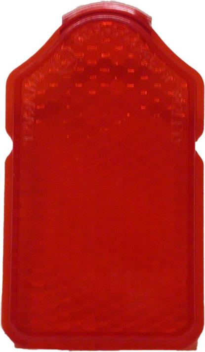 Picture of Taillight Lens Red Mini Tombstone 84mm x 46mm