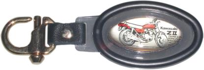 Picture of Key Ring Kawasaki Z Inlay