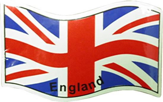 Picture of Sticker England Flag 75mm x 115mm