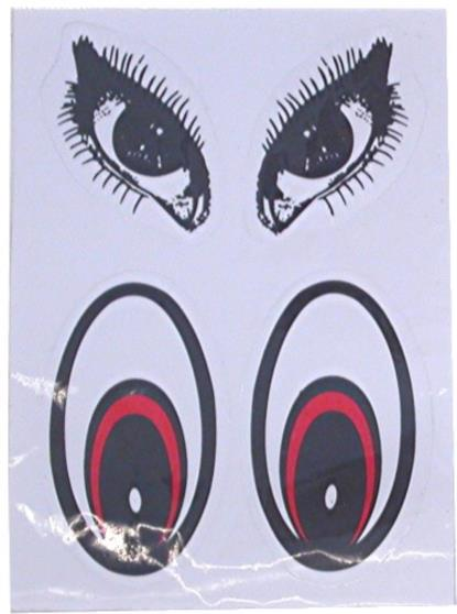 Picture of Stickers Cats Eyes and Dogs Eyes (Set)