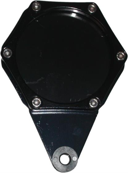 Picture of Tax Disc Holder Hexagon Black 6 Studs