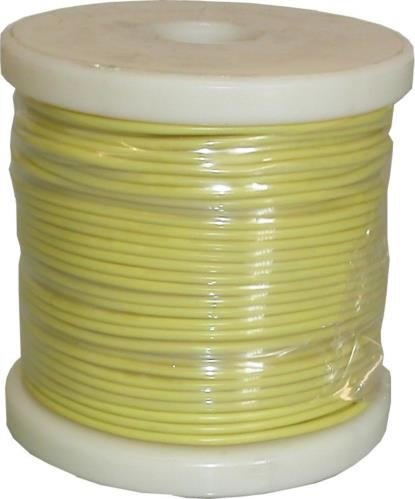 Picture of Single Electrical Cable Yellow O.D 2.50mm (50 Mtrs)