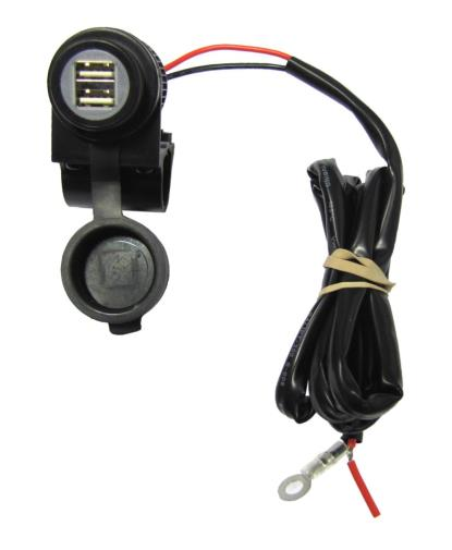 Picture of Handlebar Mounted USB Socket for charging GPS, MP3's, Phones
